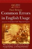 Common Errors in English Usage, book cover